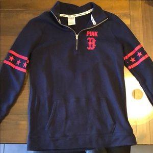 Boston Red Sox quarter zip sweatshirt